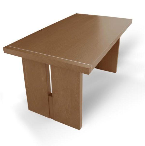 TEMPO KONDELA Jedálenský stôl, dub medový, CIDRO