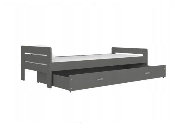 Expedo.sk Komfortná posteľ BART + rošt ZDARMA, 200x90, sivá