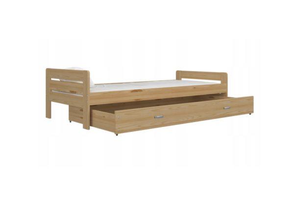 Expedo.sk Komfortná drevená posteľ BART + rošt ZDARMA, 200x90, borovica