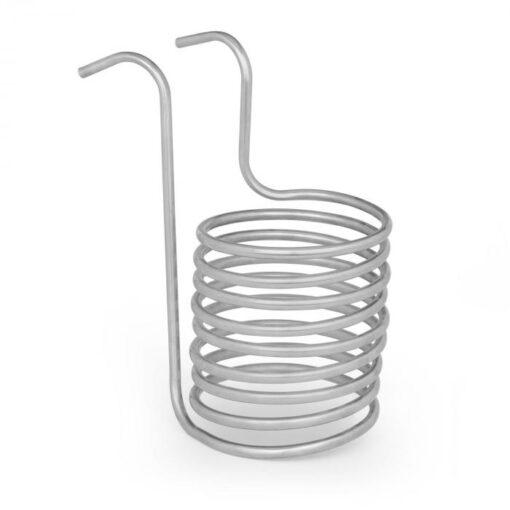 Klarstein Chiller 6, ponorný chladič, sladový chladič, Ø 20 cm, 9 závitov špirály, nerezová oceľ 304