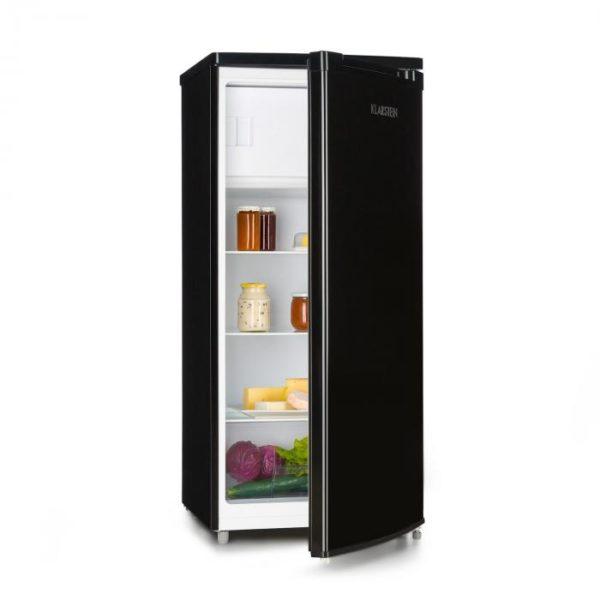 Klarstein Samara L, chladnička, 181 l, chladiaci priečinok na zeleninu, A+, čierna