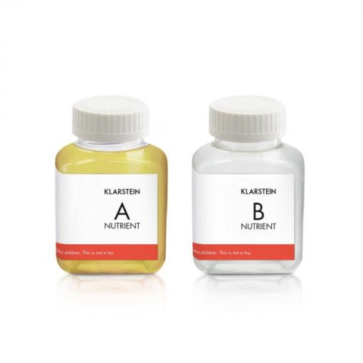 Klarstein GrowIt Nutri Kit 60, živný roztok, príslušenstvo, 2 x 60 ml