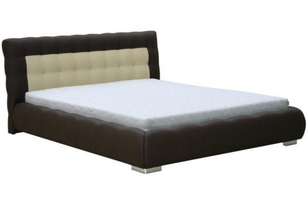 BOG-FRAN Forrest 160 čalúnená manželská posteľ hnedá