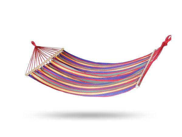 NABBI XHMK hojdacia sieť 200x150 cm farebné pásy