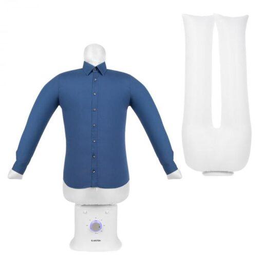 Klarstein ShirtButler Deluxe, zariadenie na automatické sušenie a žehlenie, 1250 W