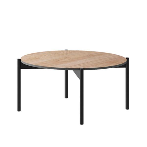 Konferenčný stolík, dub jaskson hickory/grafit, BERGEN BL86