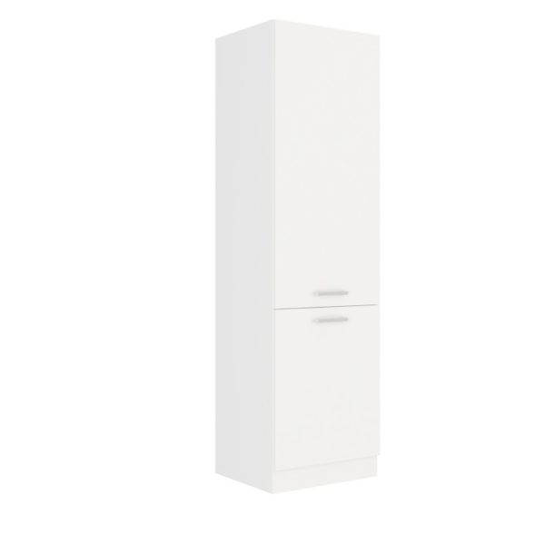 Vysoká skrinka, biela, SPLIT 60 DK-210 2F