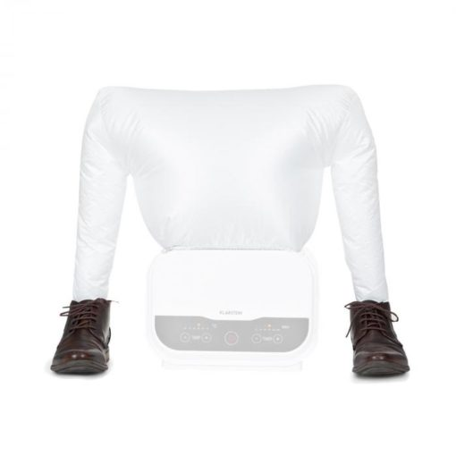 Klarstein ShirtButler Pro, nástavec na topánky, príslušenstvo, sušič topánok, nylon, biely