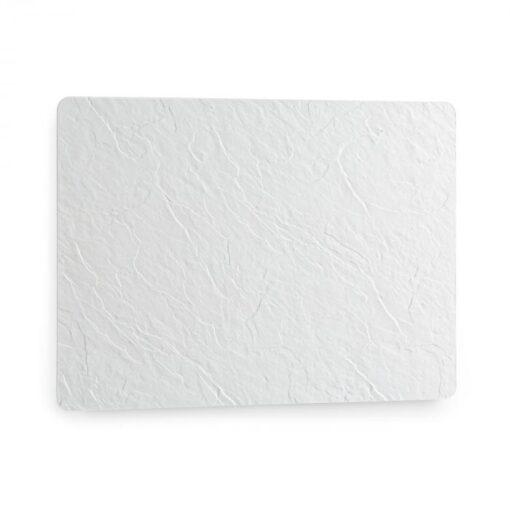 Klarstein Wonderwall Earth, infračervený ohrievač, 80 x 60 cm, 550 W, nástenná montáž, biely