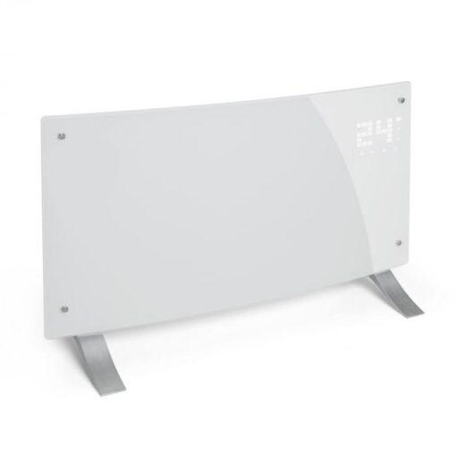 Klarstein Bornholm Curved, konvektor, termostat, časovač, 2000 W, biely