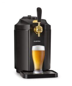 Klarstein Skal, výčapné zariadenie, chladenie piva, 5 l súdok, CO2, ušľachtilá oceľ, čierne