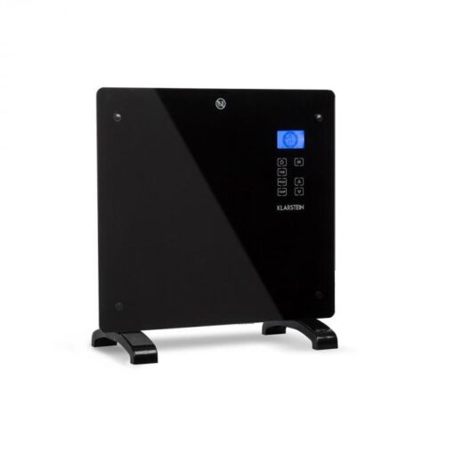 Klarstein Norderney, konvektor, termostat, časovač, 1000 W, 20 m², čierny