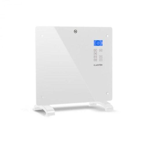 Klarstein Norderney, konvektor, termostat, časovač, 1000 W, 20 m², biely