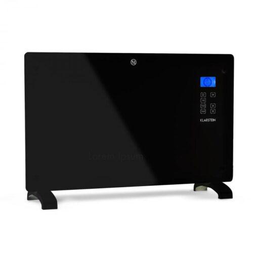 Klarstein Norderney, konvektor, termostat, časovač, 2000 W, 30 m², čierny