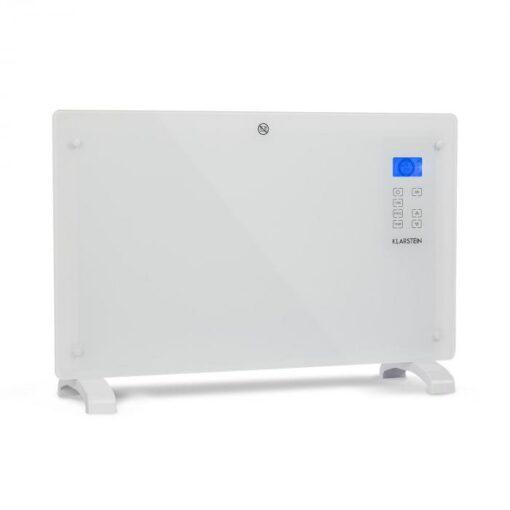 Klarstein Norderney, konvektor, termostat, časovač, 2000 W, 30 m², biely
