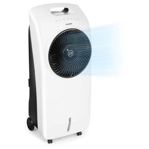 Klarstein Rotator, ochladzovač vzduchu, 110 W, 8-hod. časovač, diaľkový ovládač, biely