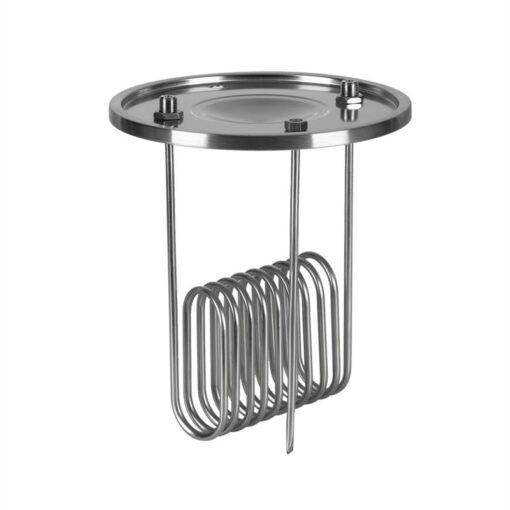 """Klarstein Gärkeller, chladiace veko, ponorný chladič, 1/2"""" tyč so senzorom, 304 ušľachtilá oceľ"""