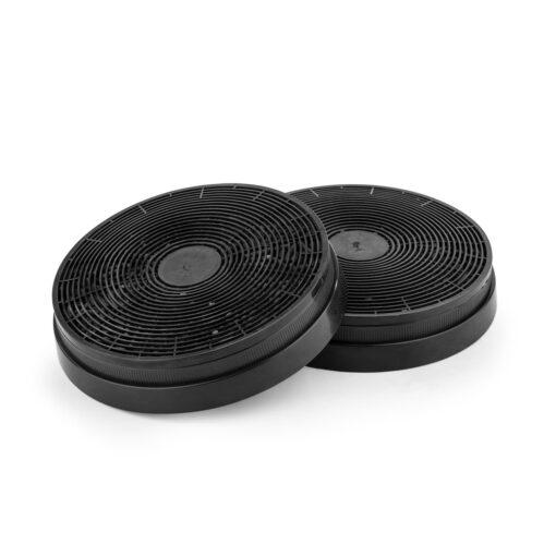 Klarstein filter s aktívnym uhlím do digestora náhradný diel 2 filtre Ø17,5 cm